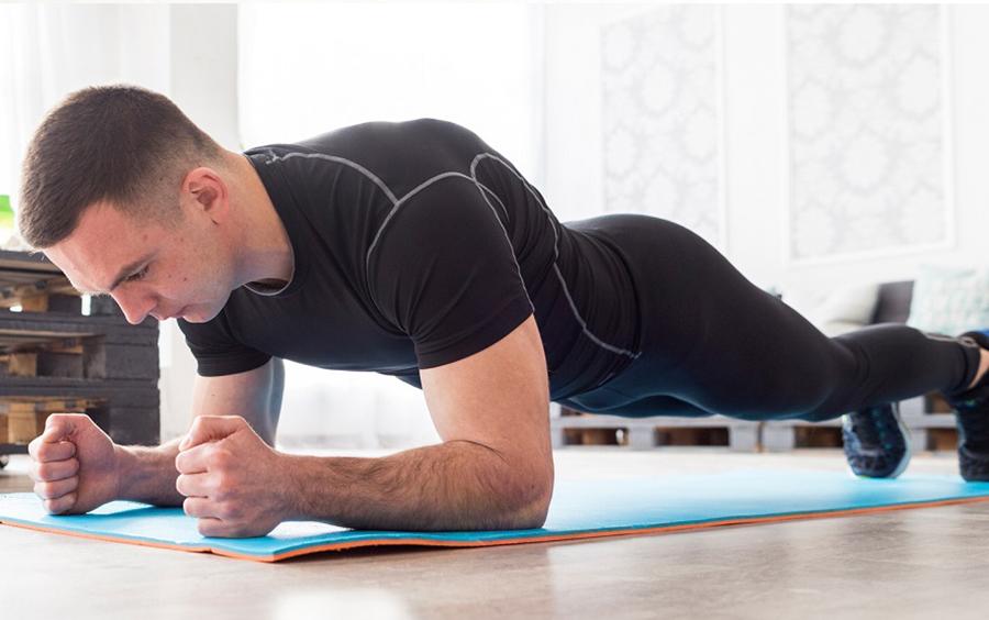 Giảm mỡ bụng với bài tập Plank