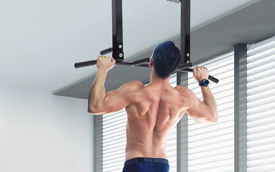 Bài tập gym giảm mỡ bụng cho nam – Hít xà kép