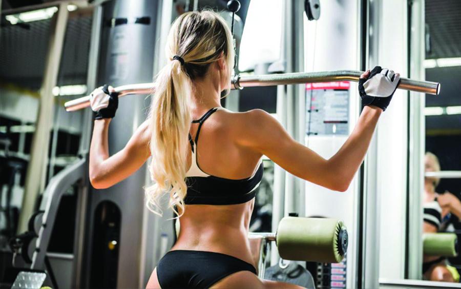 Bao tay tập gym dành cho nữ Harbinger Stretch Back