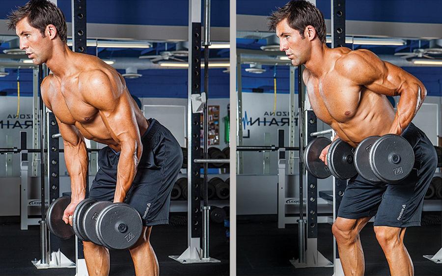 Tập cơ tay giúp tăng cân hiệu quả