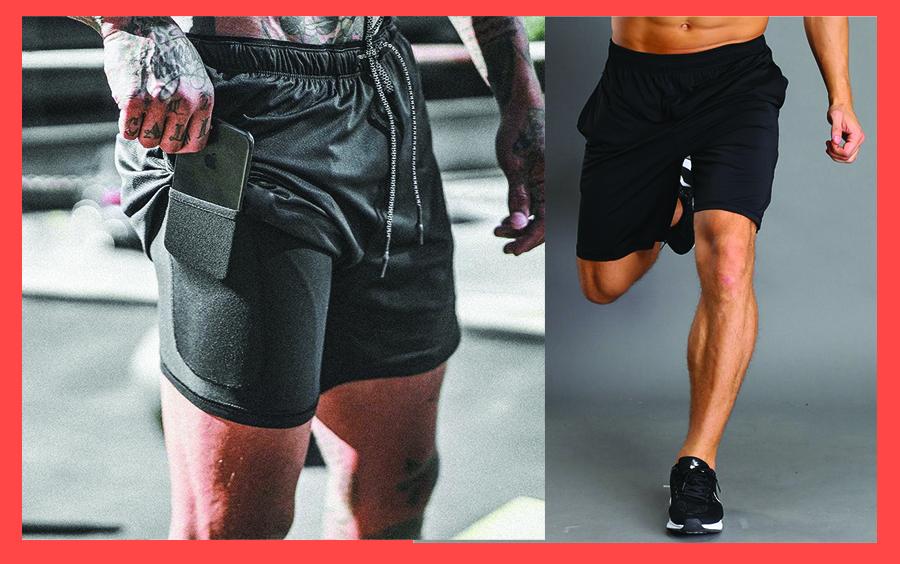 Chọn quần đùi cho nam tập gym