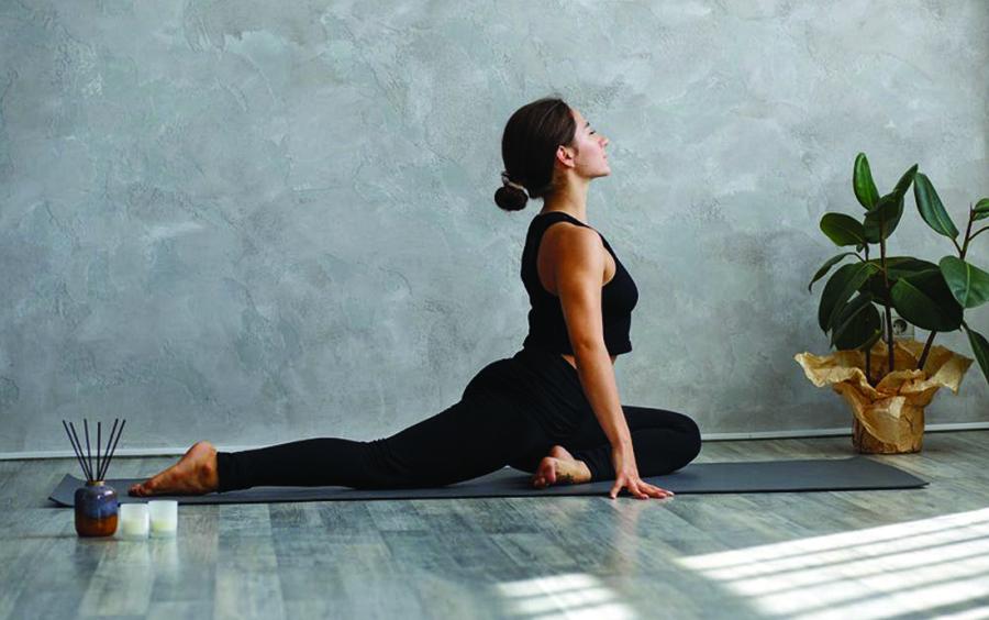 Yoga – Tư thế chim bồ câu