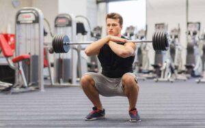 Front Squat giúp cơ chân chắc khỏe