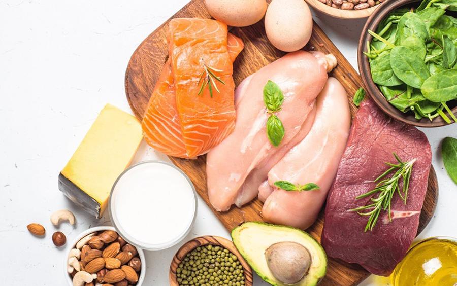 Thực phẩm giàu đạm giúp ăn kiêng không tập thể dục