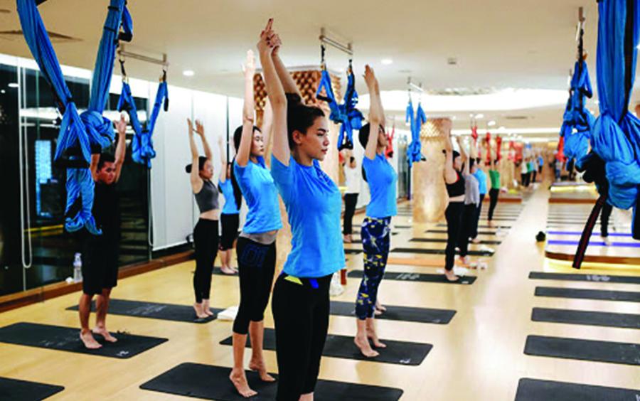 Là nơi kết nối yoga - thầy - trò- cùng chung một niềm đam mê lớn.