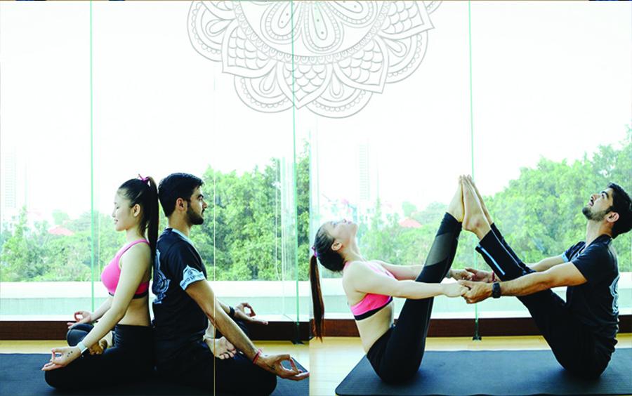 100% giáo viên Ấn Độ - chiếc nôi của yoga thế giới.