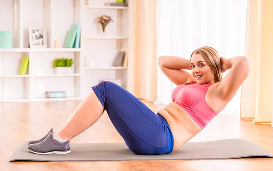 Mỗi ngày hãy dành ra từ 20 đến 30 phút giúp bạn có được vùng bụng phẳng lì