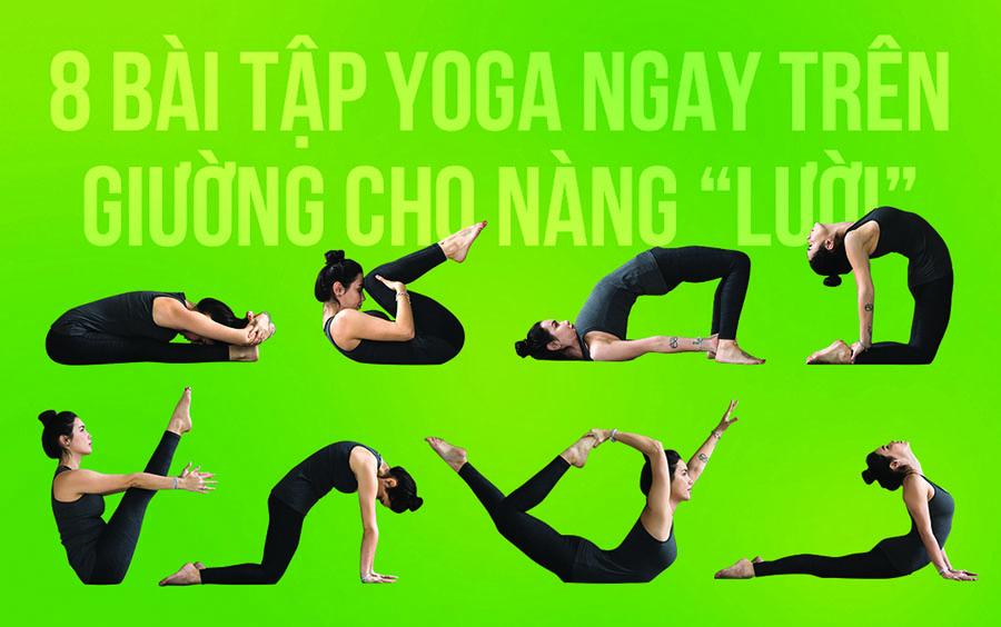 F5 lại vóc dáng bằng bài tập yoga giảm mỡ bụng