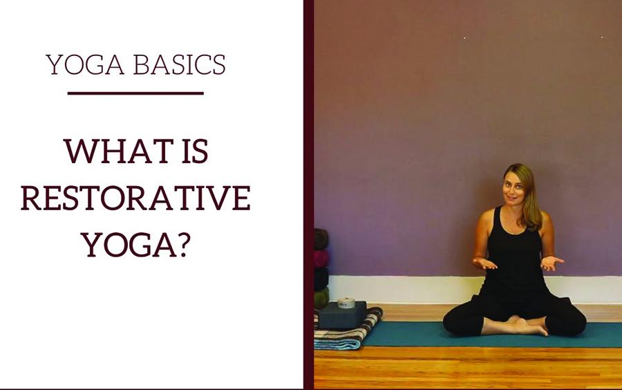 Restorative Yoga còn được gọi là Yoga phục hồi