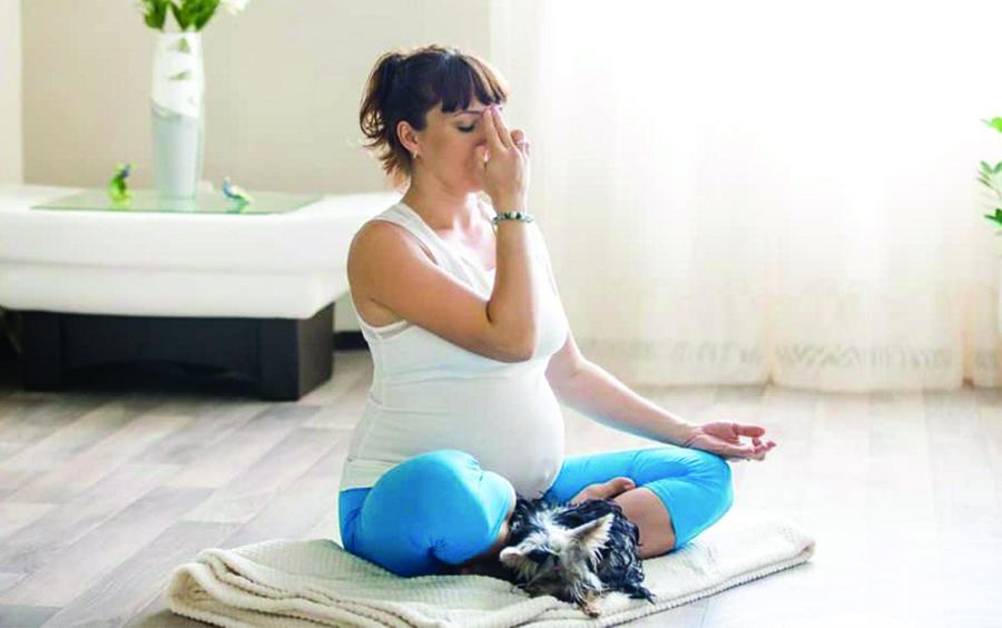 Cần lựa chọn những tư thế phù hợp để tập khi mang thai