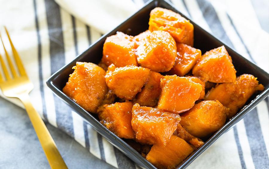 Kết thúc thực đơn giảm cân ăn khoai lang