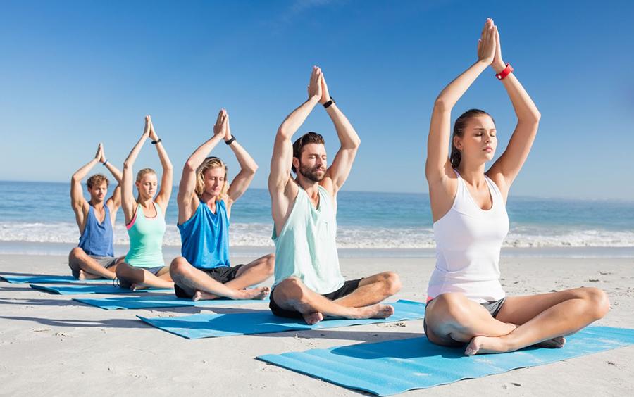 Nhạc Babanam là cái hồn không thể thiếu của môn thiền Yoga