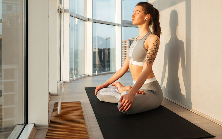 Yoga với âm nhạc trị liệu