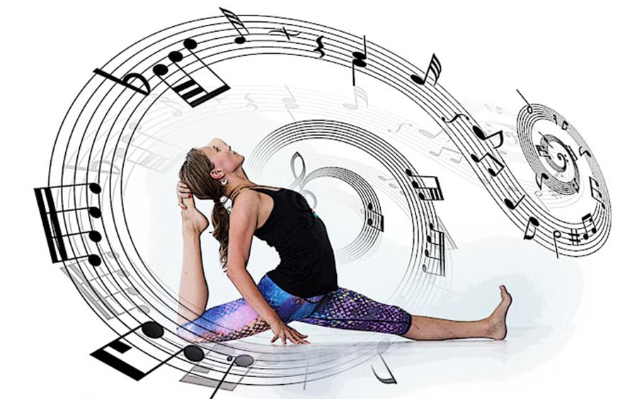 Yoga cùng với âm nhạc