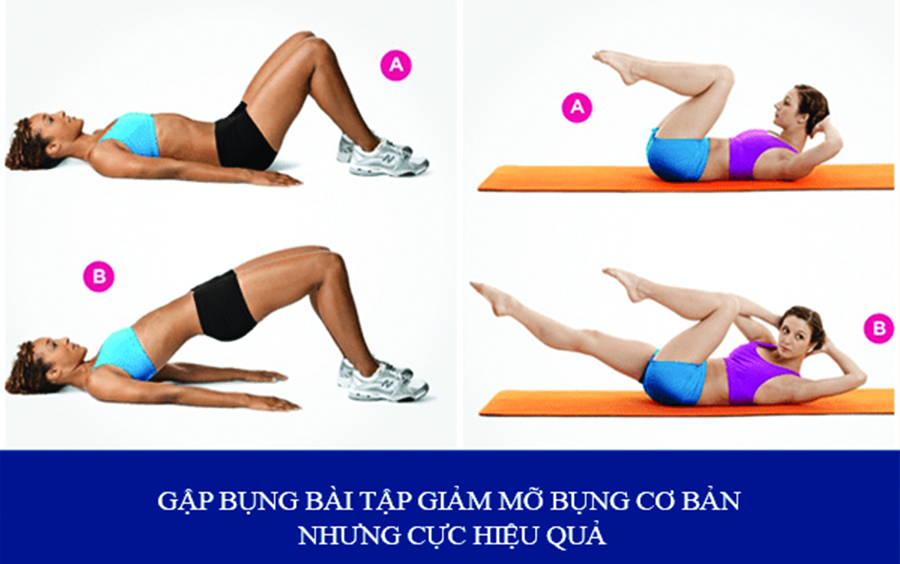 Gập bụng là cách hữu hiệu giúp bạn giữ được thân hình cân đối, vòng eo săn chắc và giảm mỡ thừa
