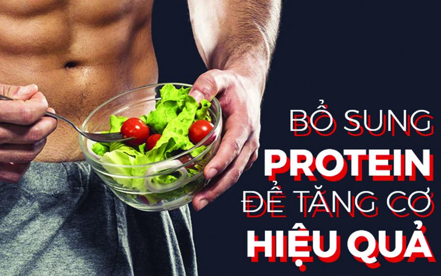 Cung cấp đủ lượng protein cho cơ thể