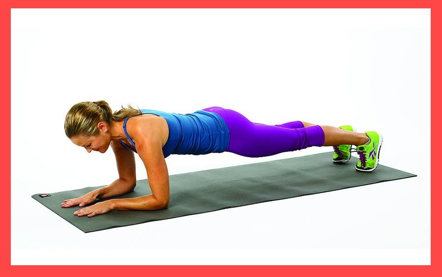 Plank giúp cơ bụng khỏe