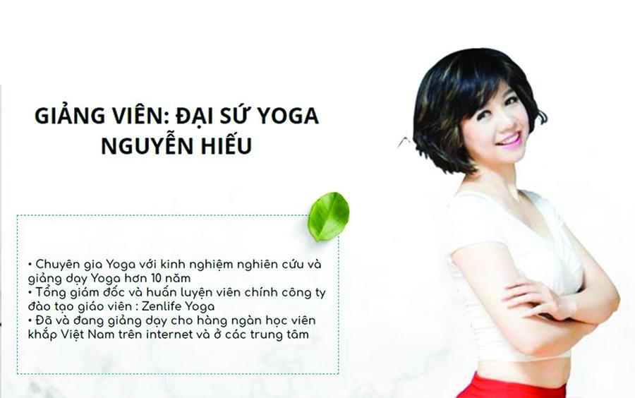 Yoga mang lại cho tôi những thành tích tuyệt vời.