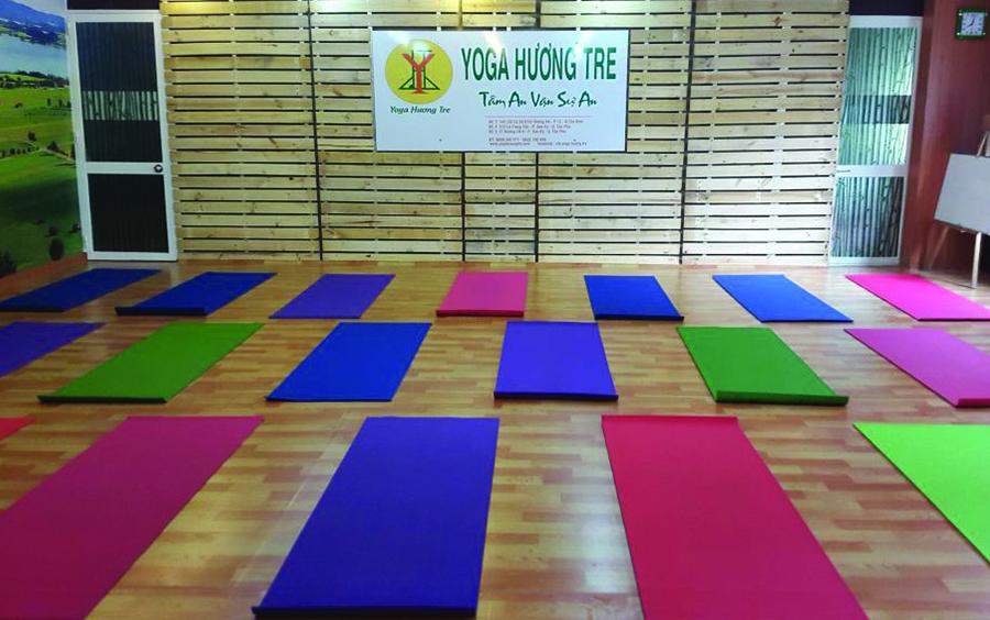 Địa điểm phù hợp với các tính đồ yoga.