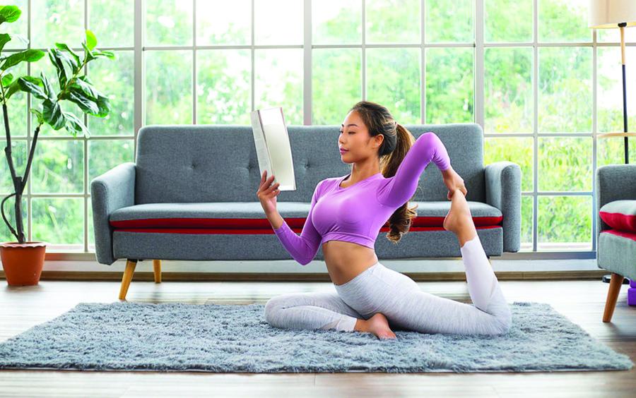 Tập yoga tại nhà để có một sức khỏe tốt nhất, cơ thể dẻo dai